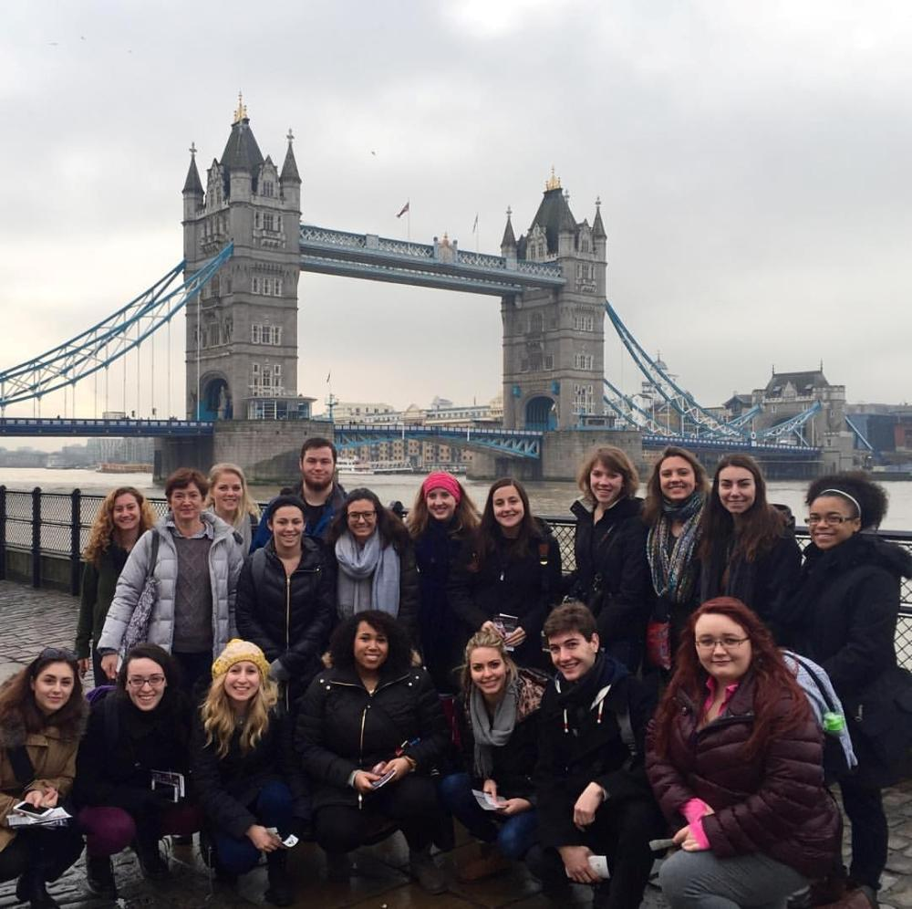 Tower Bridge w/Students