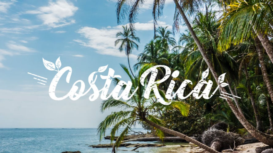 Beach of Costa Rica