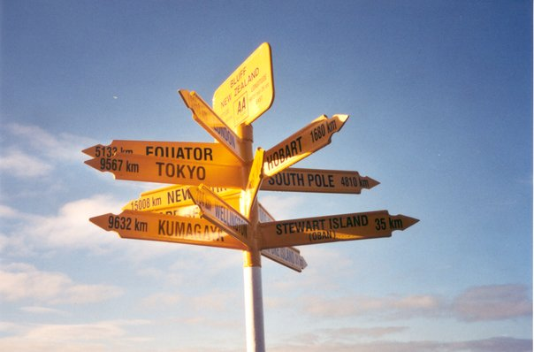 Directional Sign in NZ