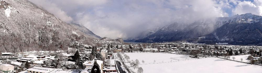 Switzerland Winter Panoramic